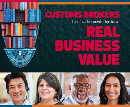 Customs broker turn trade knowledge into real business value